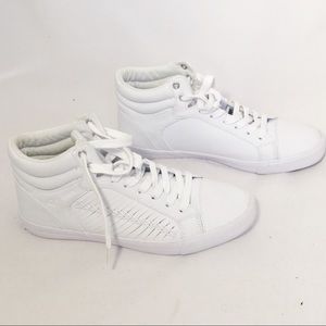 White High Top Sneakers - Guess Sneakers Size 9.5